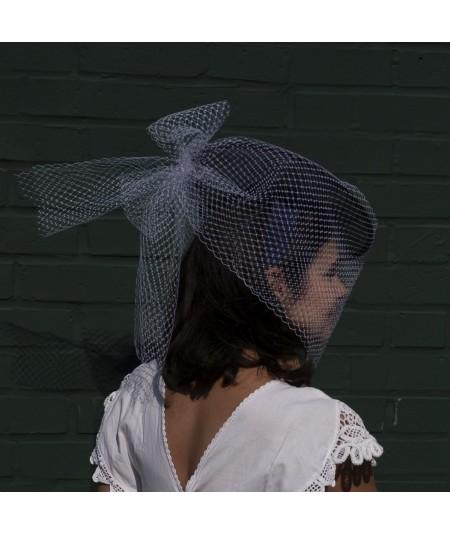 Lucy in Veiling Fascinator