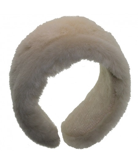 Earmuff Faux Fur - Ivory