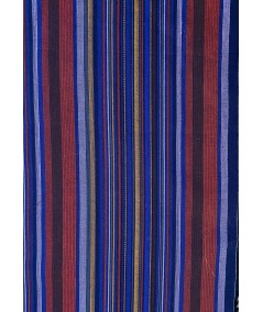 Dark Mullti Cotton Stripe