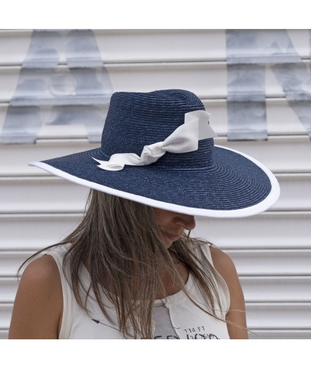 Staw Wide Brim with Bow