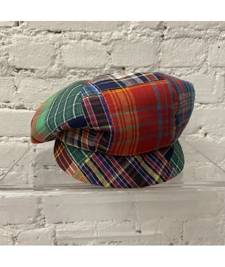 Multi Color Cotton Patchwork Cap