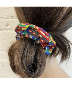 East Village Liberty Print Scrunchie