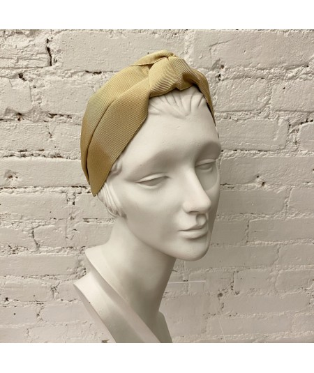 Grosgrain Center Turban Headband