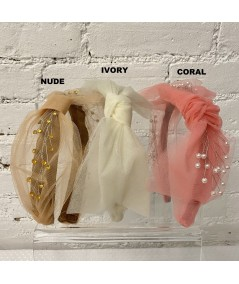 Nude - Ivory - Coral Tulle Color Option