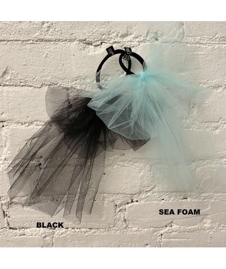 Black - Sea Foam Tulle Color Option
