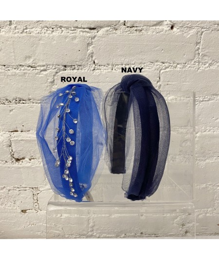 Royal - Navy Tulle Color Option