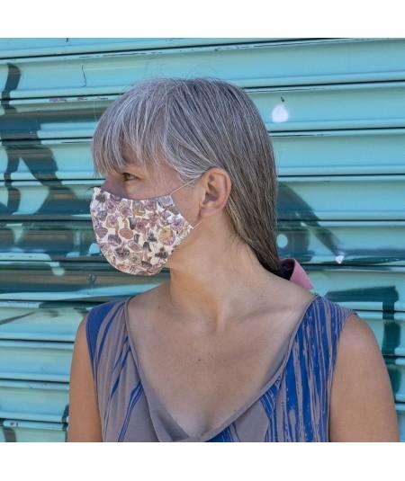 Mushroom Liberty Print Face Mask