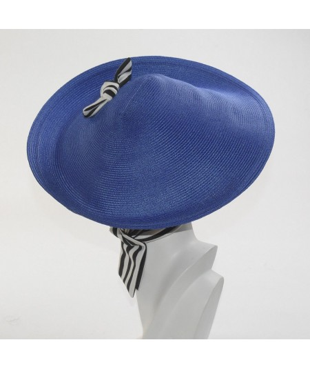 Straw Collie Hat with Jersey Turban