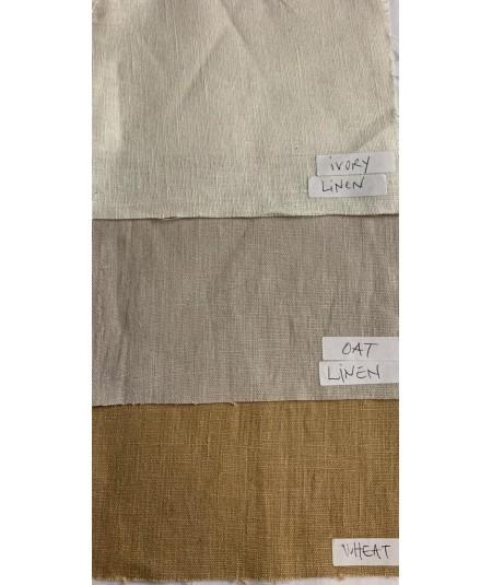 Ivory - Oat - Wheat Linen