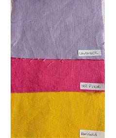 Lavender - Hot Pink - Marigold Linen
