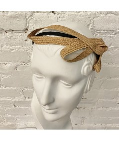 Wheat Straw Loop Headpiece