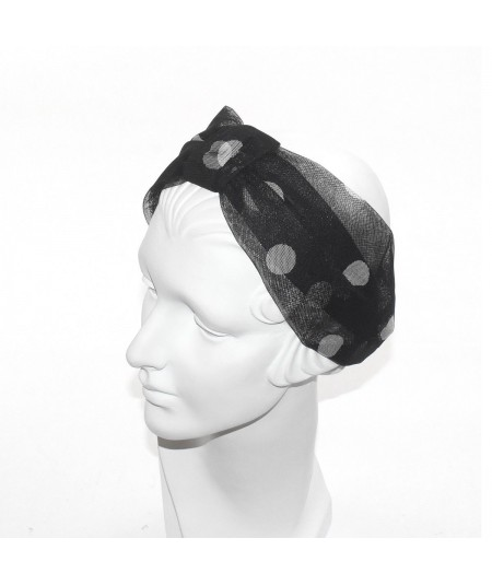 Tulle Turban Headband by Jennifer Ouellette