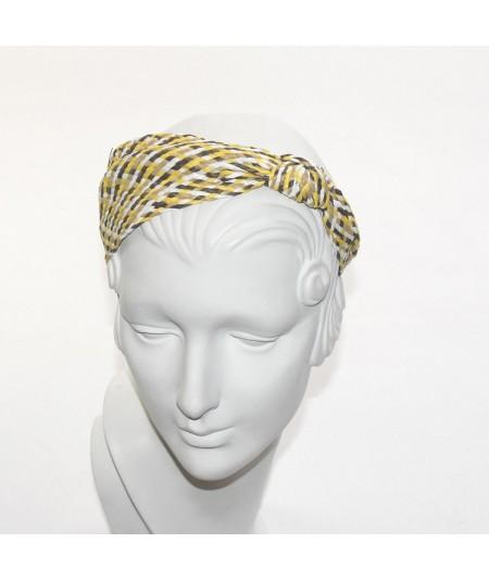 Sunshine POOLSIDE Raffia Turban with Side Knot