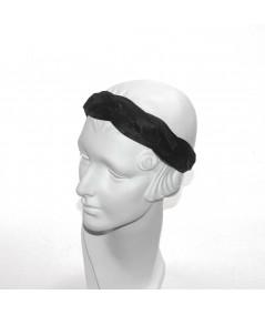 Black Horse Hair Braided Headband