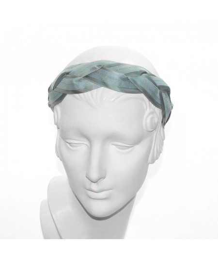 Petrol Horse Hair Braided Headband