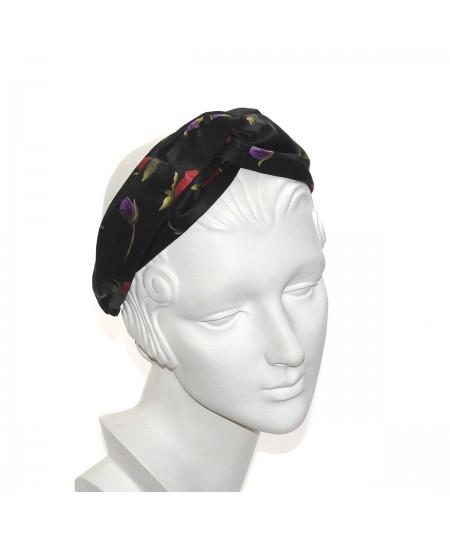 Silk Print Turbanista Headband