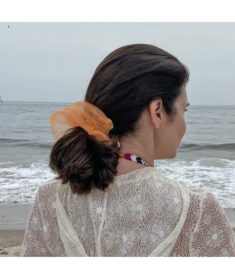 Orange Big Scrunchie