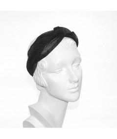 Black headband turban