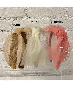 Nude - Ivory - Coral