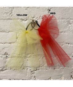 Yellow - Red Tulle