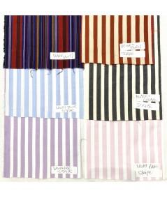 Dark Multi - Beige/Burnt - Ligth Blue - Black/Cream - Lavender - Light Pink Cotton Print