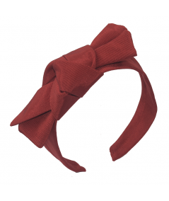 Red Cardinal Fortune Cookie Tie Headpiece