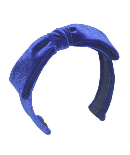 Royal Velvet Bow Headband