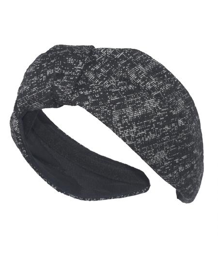 Jersey Print Draper Turban Headband