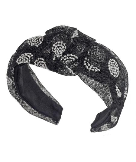 Metallic Ring Chloe Turban Headband