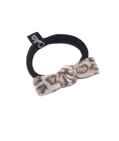 Tiger Animal Print Tiny Knot Ponytail Elastic
