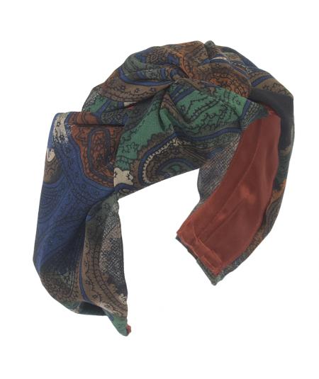 Painted Paisley Roxanne Turban Headband