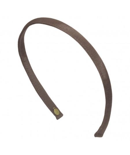 Taupe Grosgrain Basic Headband