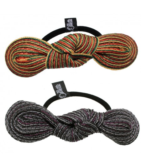 jamaica-and-urchin-colored-stitch-small-knot-trimmed-ponytail-elastic