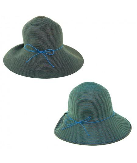 Summer Large Brim Hat by Jennifer Ouellette