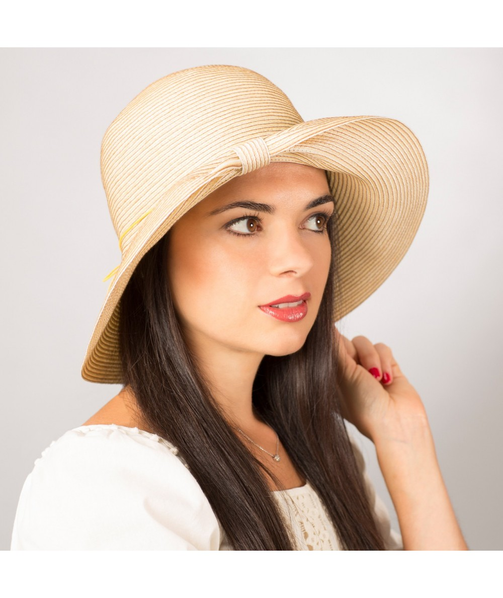 Summer Large Brim Hat by Jennifer Ouellette