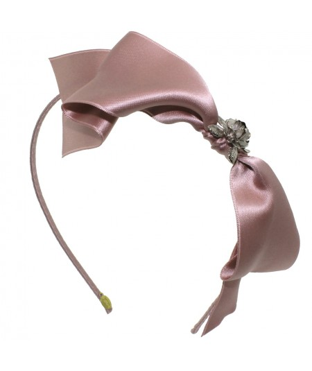 Satin Bow by Jennifer Ouellette