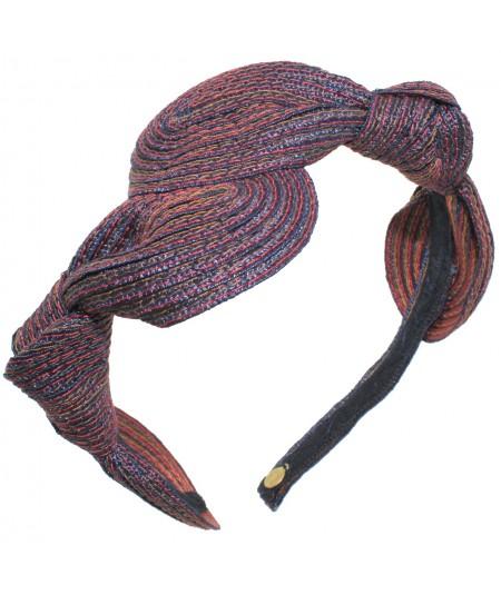 Williamsburg Straw Knot Millinery Headpiece