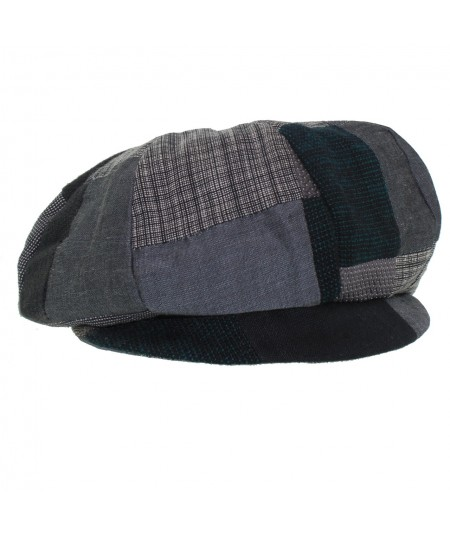 echn-recycled-patchwork-newsboy-cap
