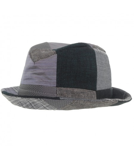 mens-hat-recycled-patchwork-fedora