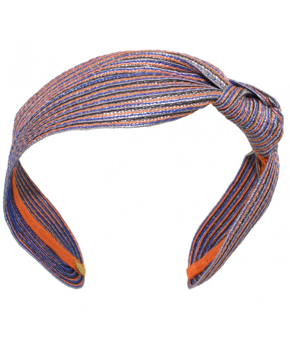 Subway Colored Stitch Side Knot Headband