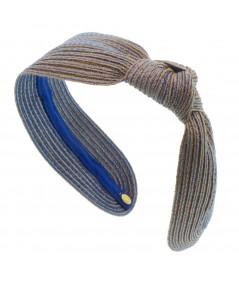 Coast Colored Stitch Side Knot Headband