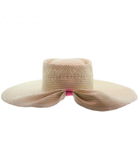 Straw Hat Summer Sun Protection by Jennifer Ouellette