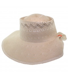 Straw Hat Summer Sun Protection by Jennifer Ouellette