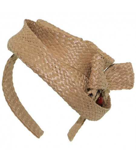 rfb12-raffia-braid-hat-with-side-tilt-and-bow-trim-headpiece