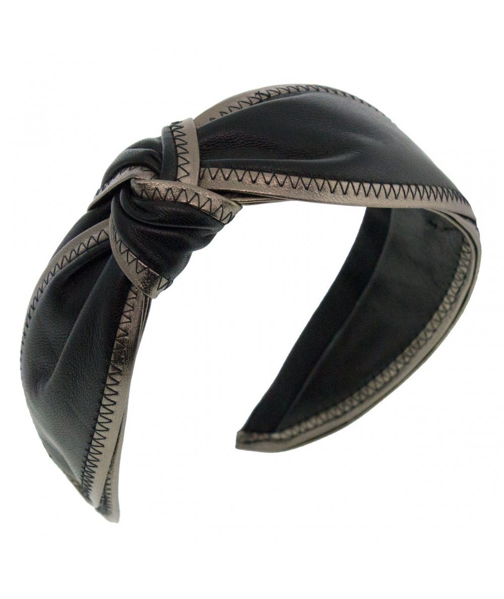 l11b-norma-leather-side-wrap-contrast-bind-turban-headband
