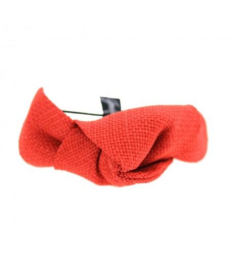 Red Raffia Bracelet or Ponytail Holder by Jennifer Ouellette