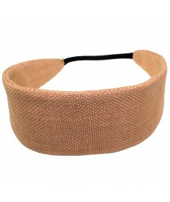 JO RAFFIA SPORT HEADBAND WITH ELASTIC