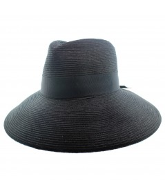 Fedora Summer Sun Hat with Large Brim by Jennifer Ouellette