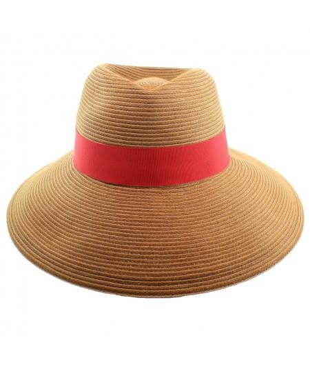 Fedora Summer Sun Hat with Large Brim by Jennifer Ouellette
