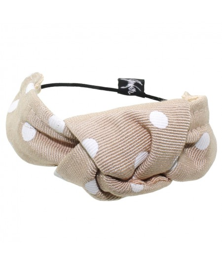 py406-polka-dot-grosgrain-knot-pony-or-bracelet
